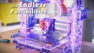 סרטון מוצר למדפסת תלת מימד